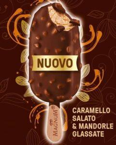 magnum caramello salato e mandorle caramellate